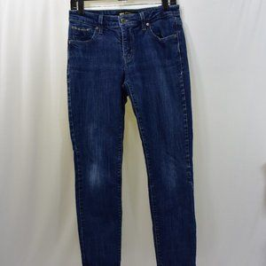 LEVIS MID RISE SKINNY JEANS 6M